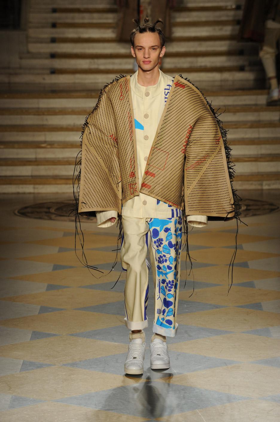 London College of Fashion MA16 Menswear Show