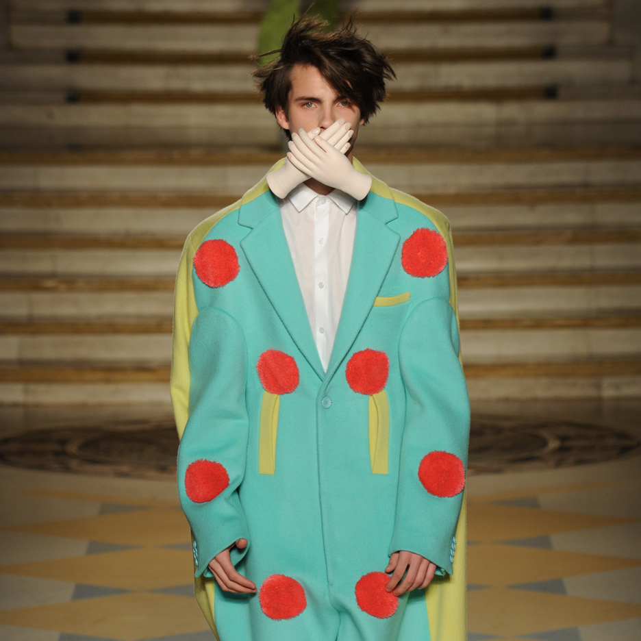Dezeen's top five collections from London College of Fashion MA Menswear 2016
