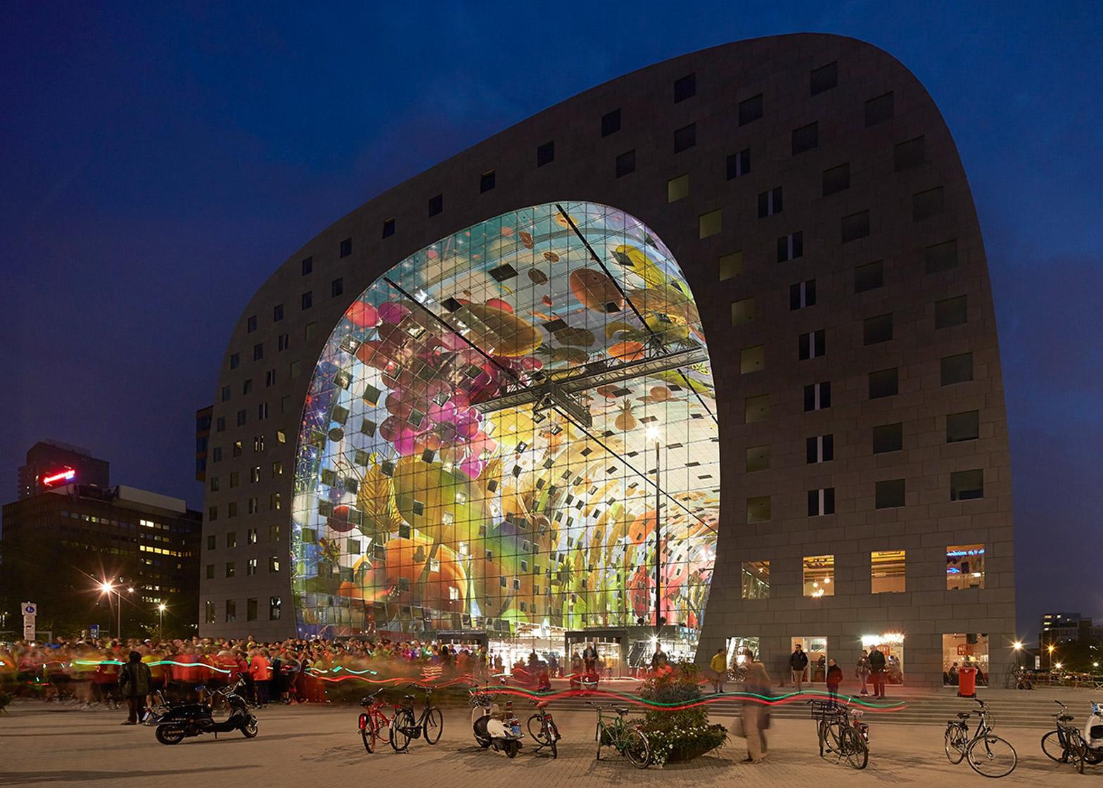 MVRDV's Markthal Rotterdam