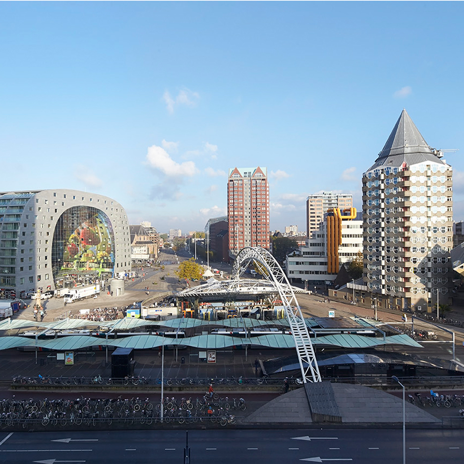 "Rotterdam is ""the city of the future"" say architects"