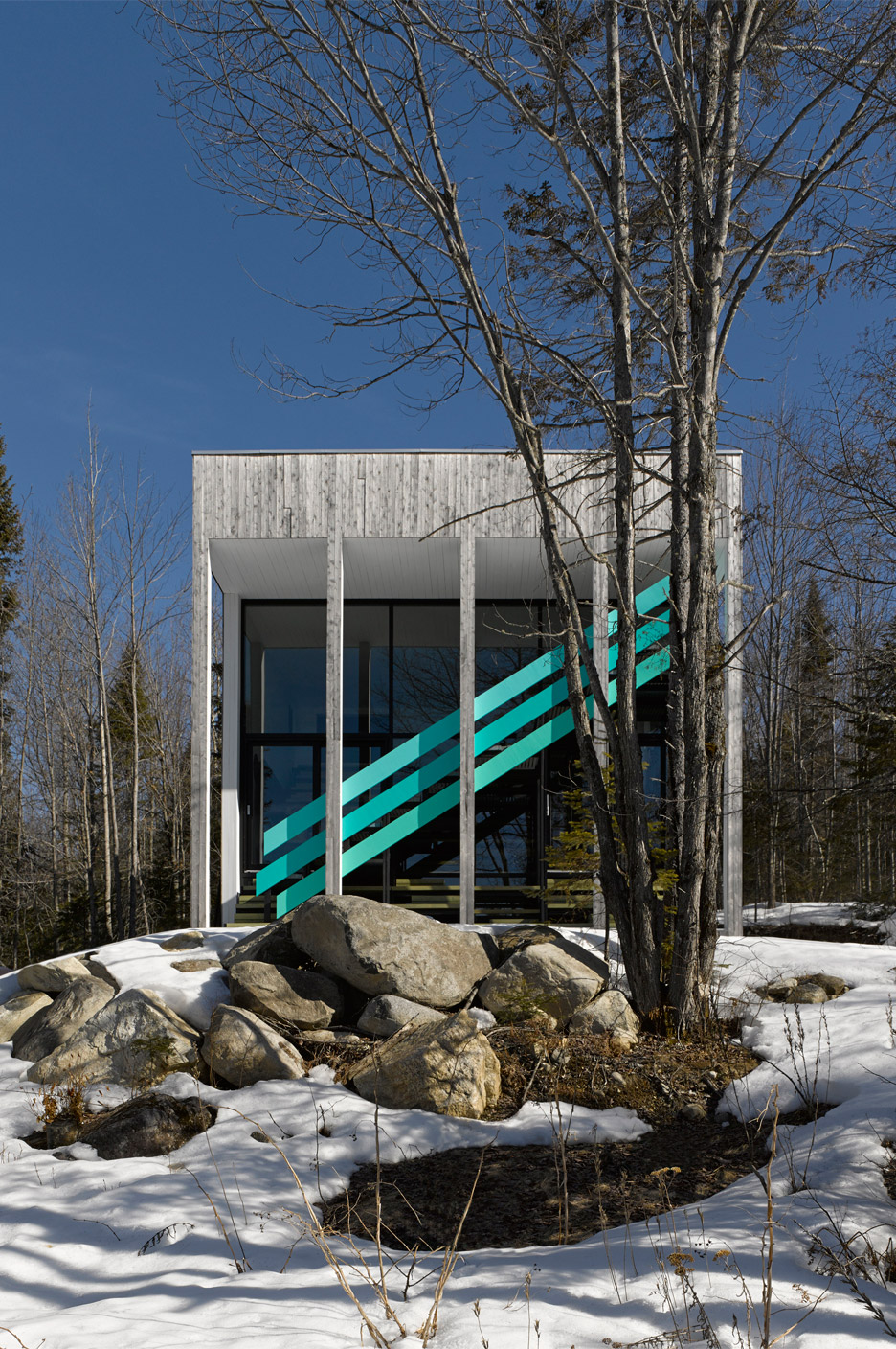 Maison Lac Jasper by Architecturama