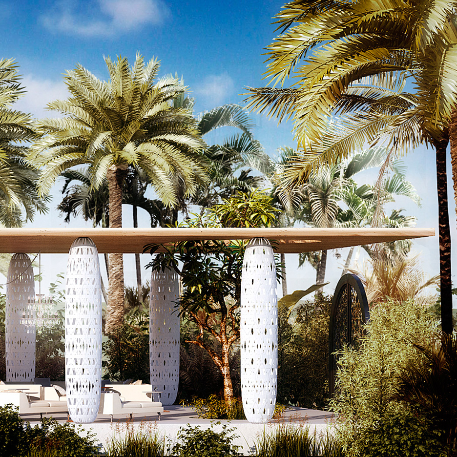 Marcel Wanders Revolution Precrafted prefabricated structures Design Miami 2015 dezeen