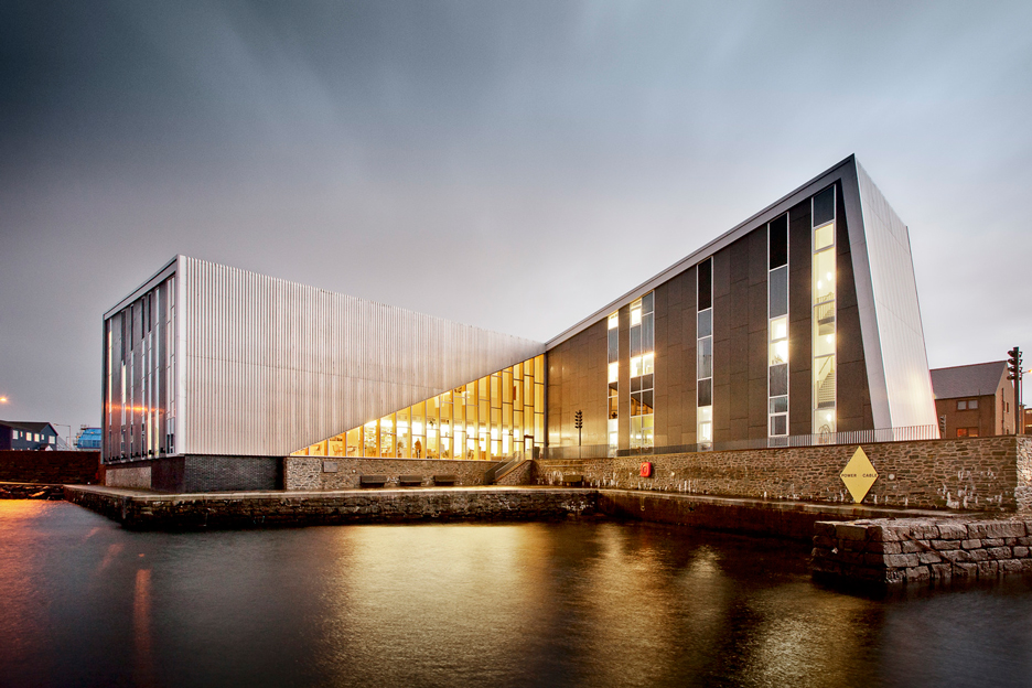 Mareel Cinema and Music Venue_Shetland_Hoskins Architects_dezeen