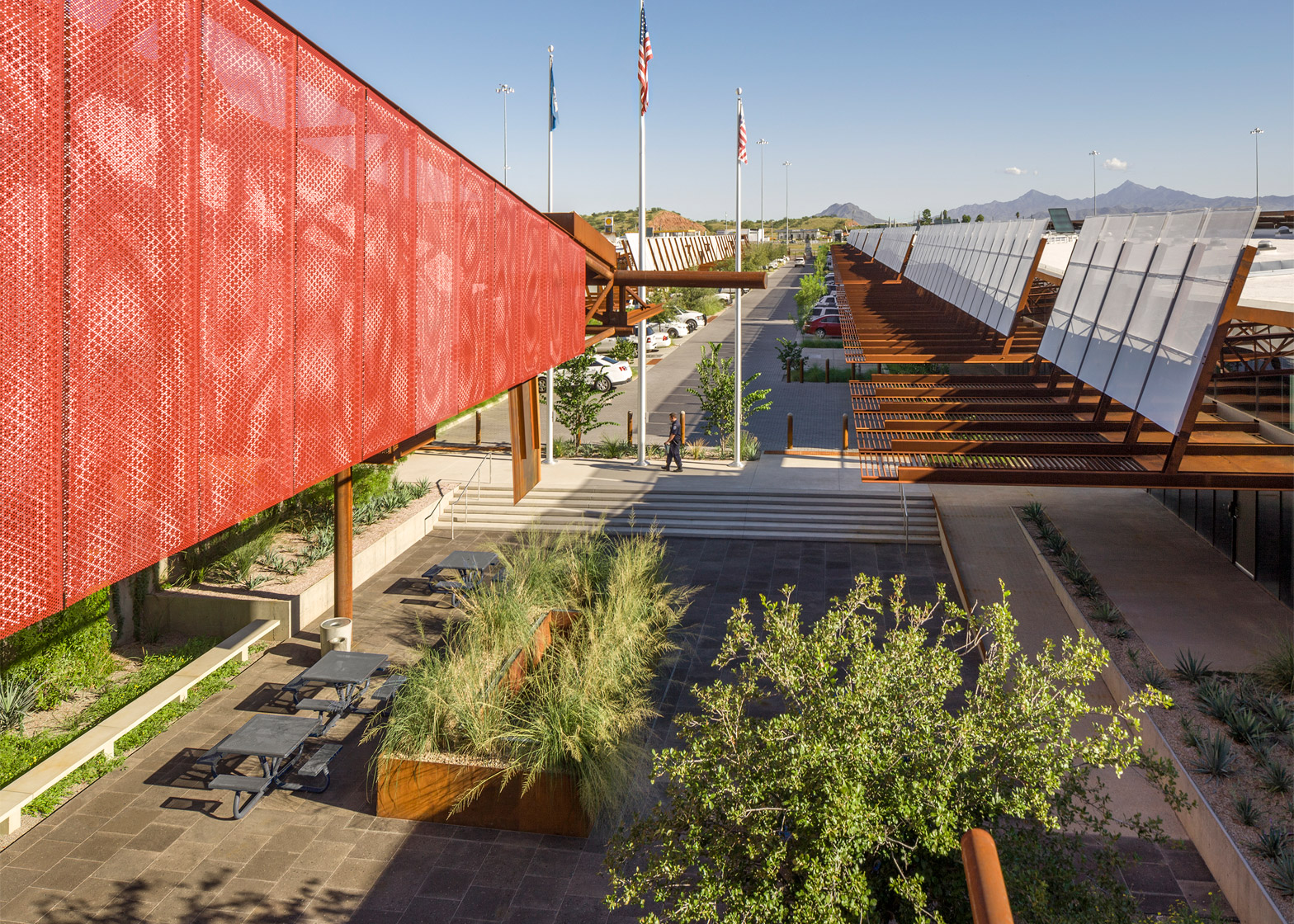 Mariposa Land Port of Entry Expansion and Modernisation; Nogales, Arizona; by 