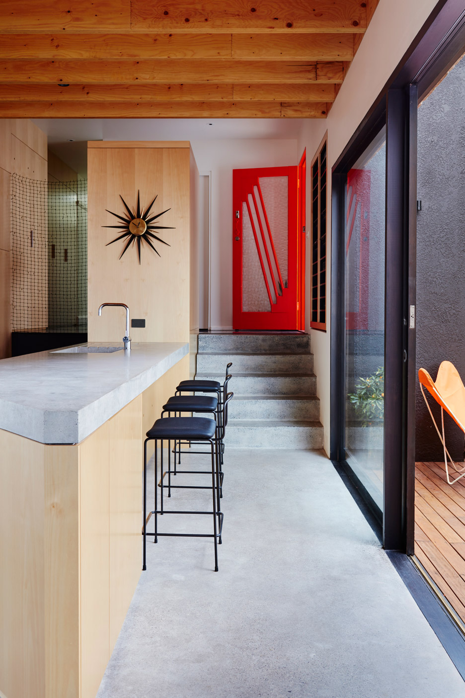 Those Architects transforms Sydney bungalow into spacious home