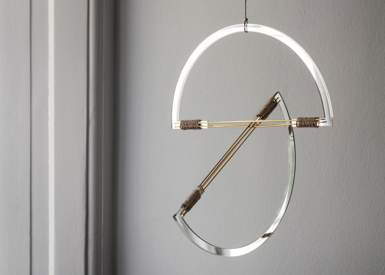 Mirror mobiles by Elkeland