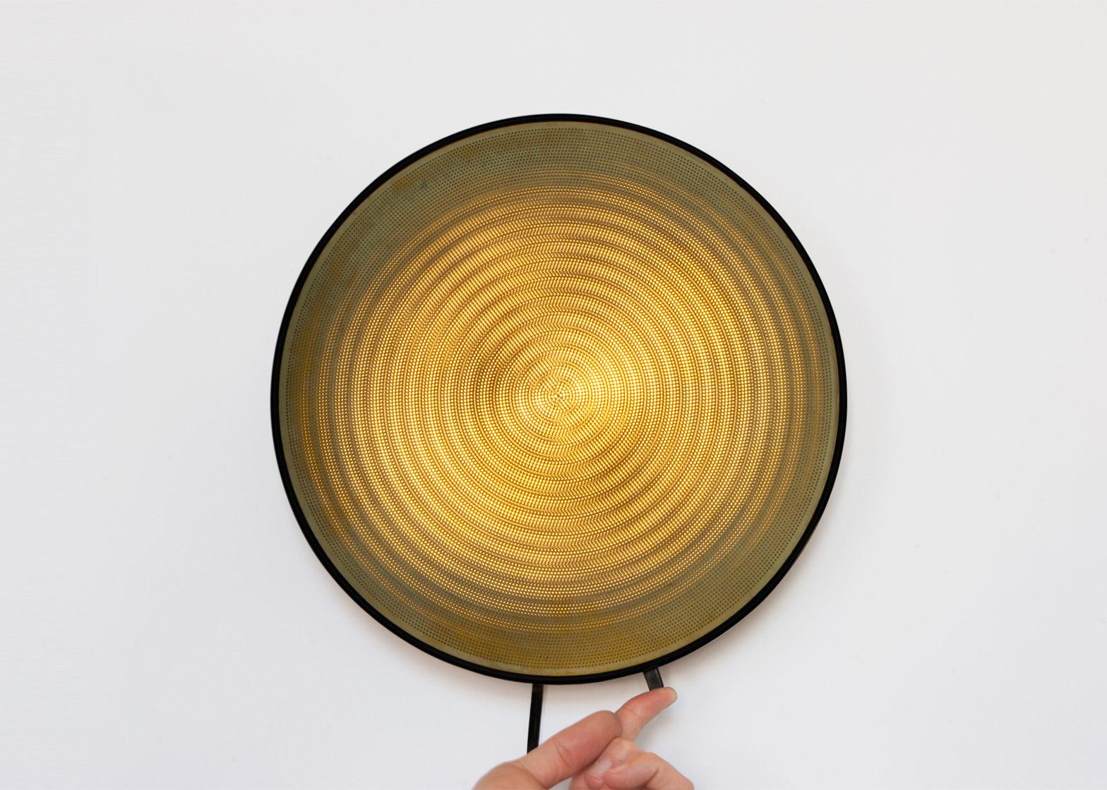 Moire lights by David Derksen