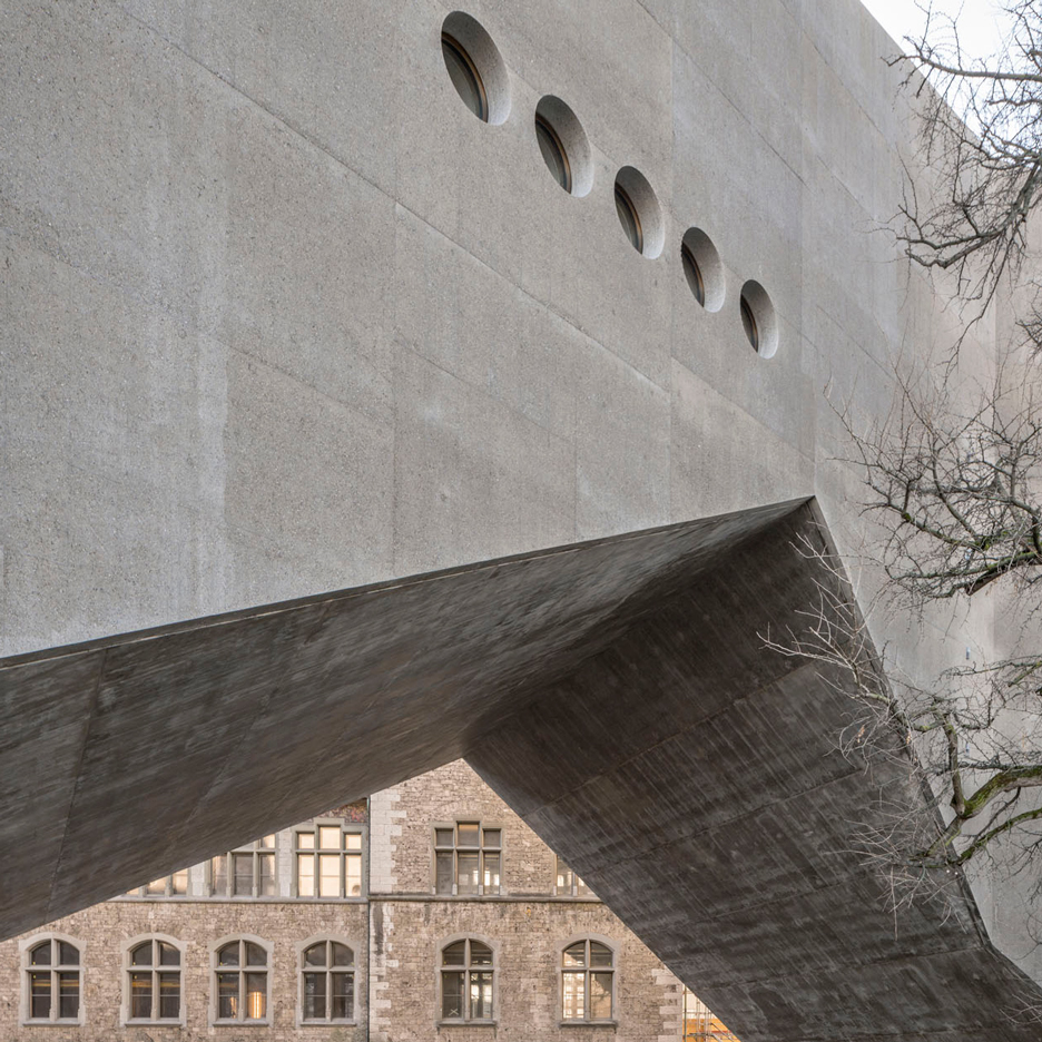 Concrete architecture and design projects dezeen for Architecture zurich