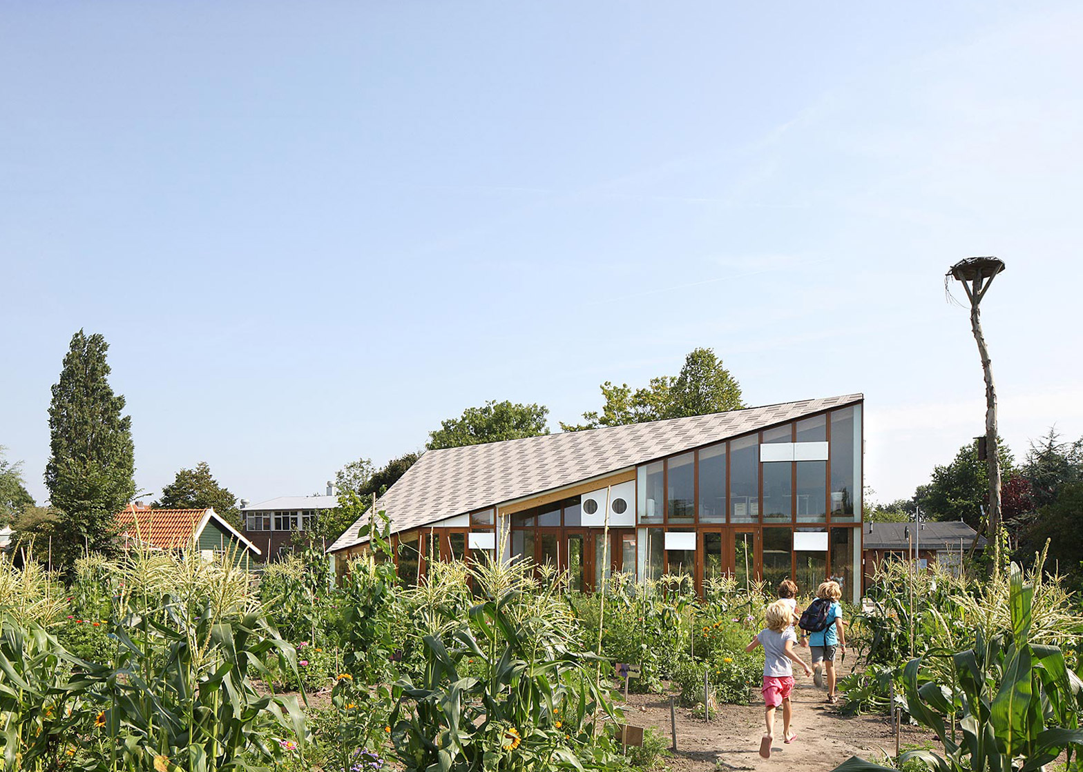 Nature & Environment Learning Center by Bureau SLA