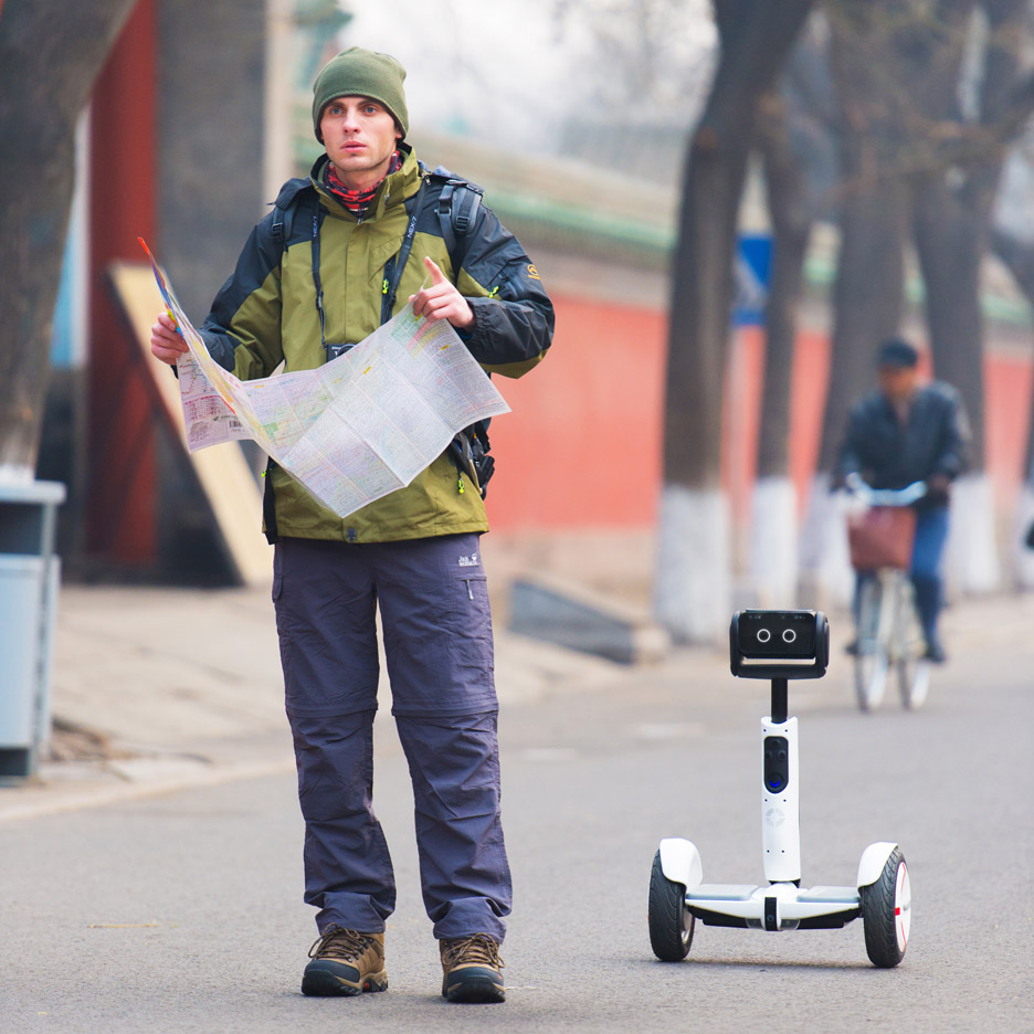 Segway Robot is part hoverboard and part bionic butler