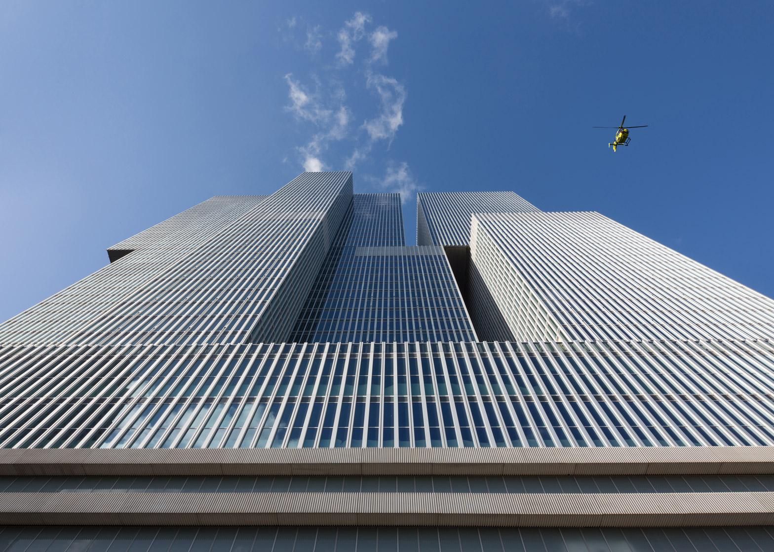 "OMA's De Rotterdam ""vertical city"" complex"