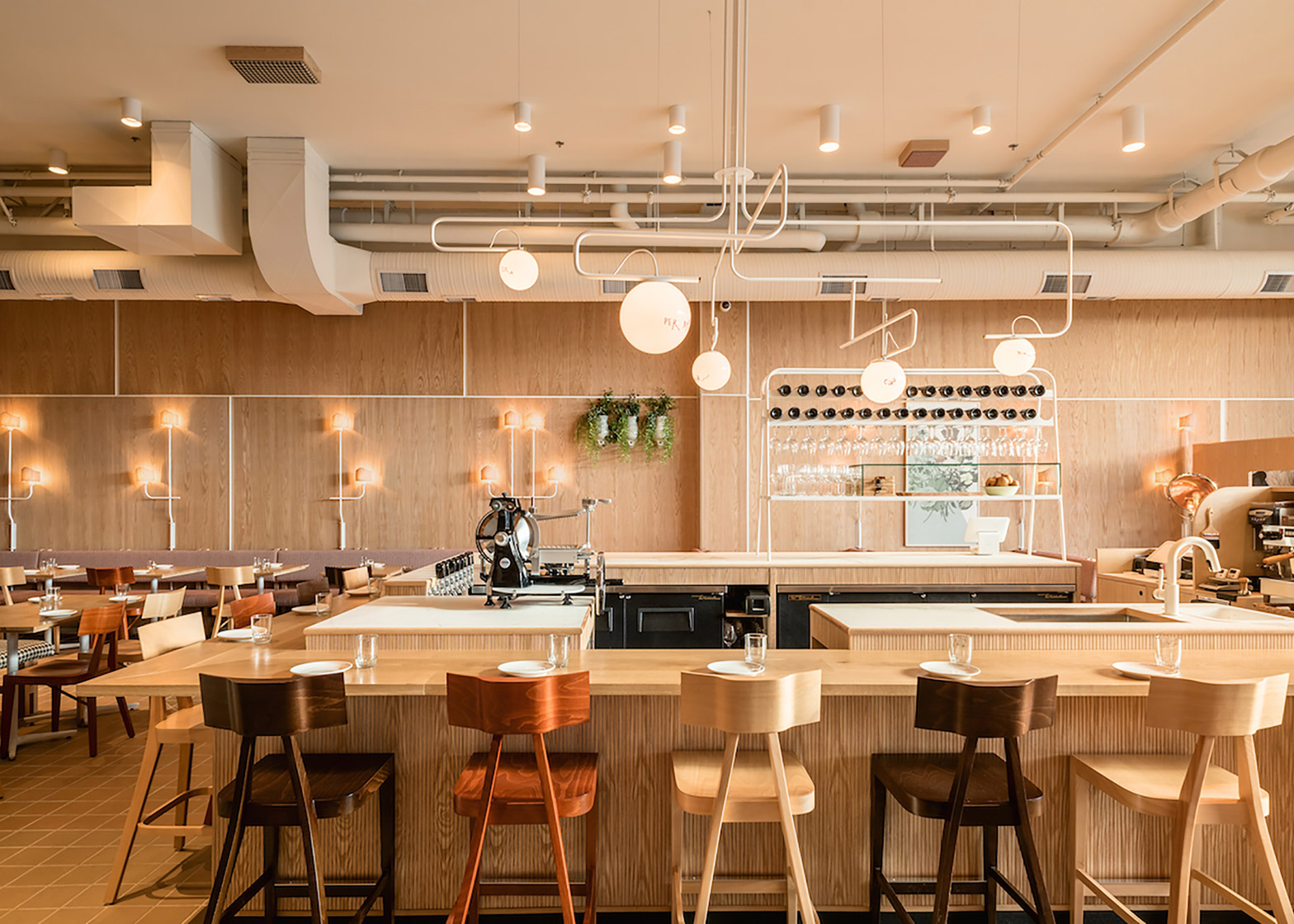 Ste Marie's Vancouver restaurant interior is based on a fictional muse