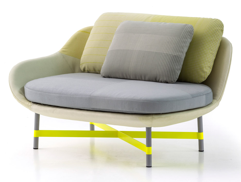 "Scholten & Baijings' Ottoman daybed for Moroso ""started with the textile"""