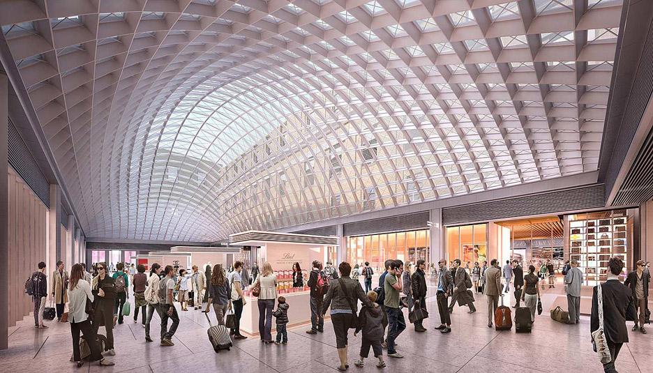 SOM reveals new images of Penn Station