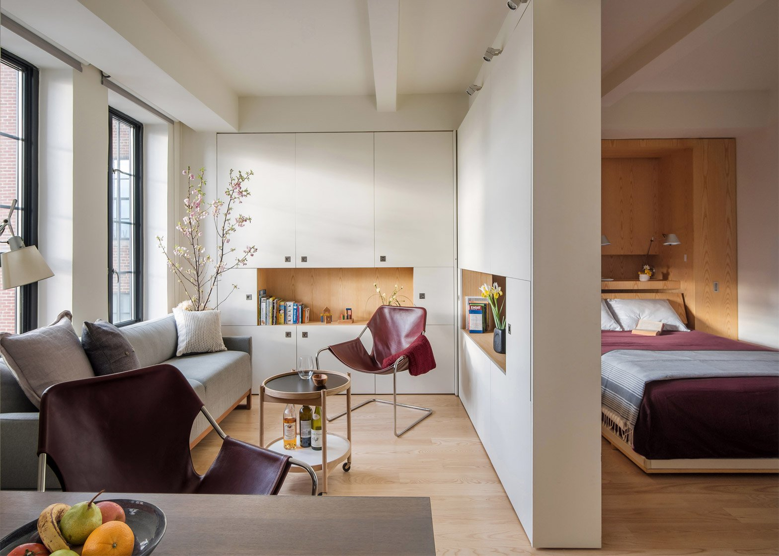 Pivot Apartment; New York, New York; by Architecture Workshop PC