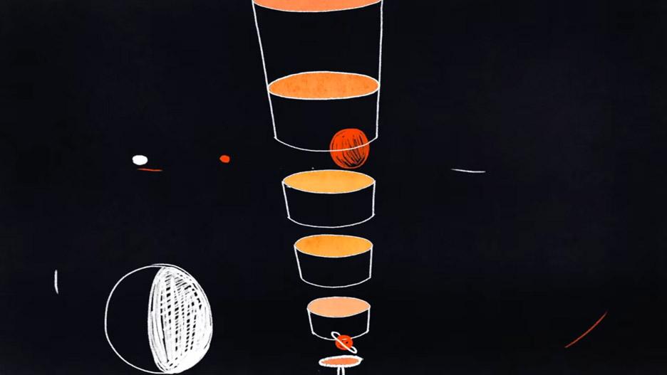 Planet Sizes by Steve Mason