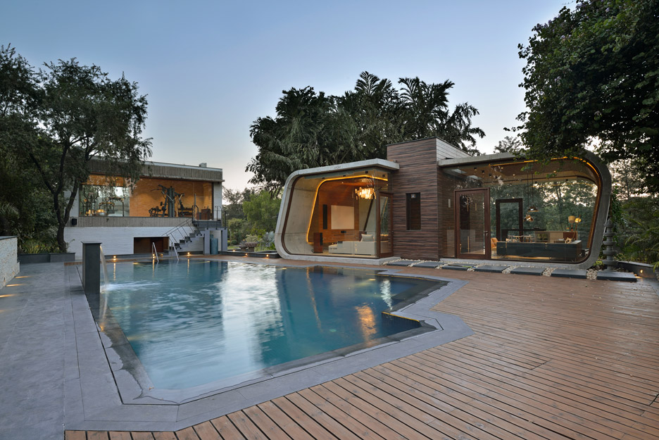 Indian Pool House By 42mm Architecture