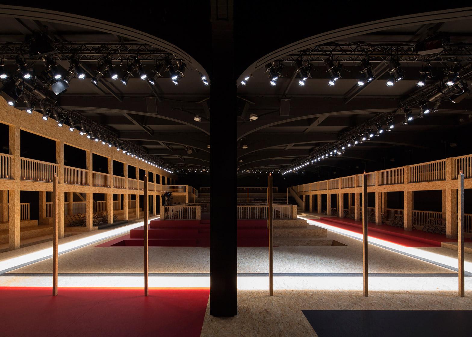 Prada AW16 catwalk by AMO