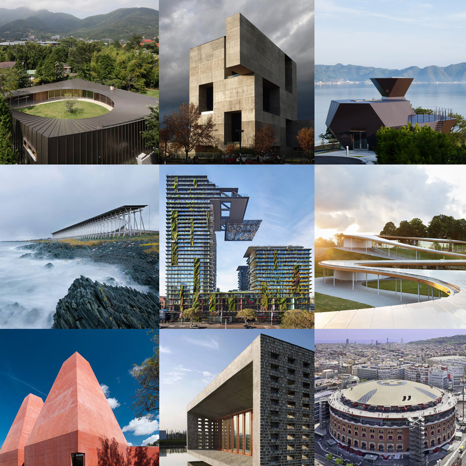 Dezeen's new Pinterest board celebrates Pritzker Prize winners past and present