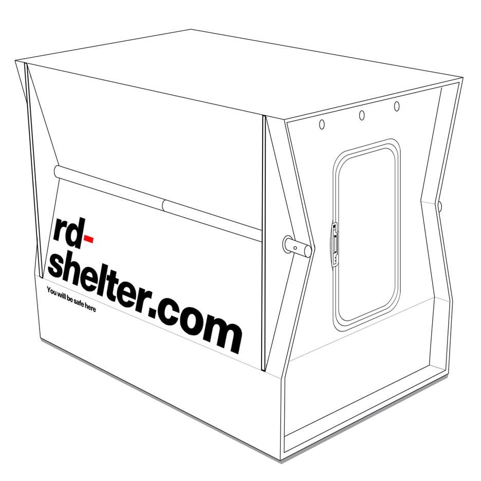 Suisse seeks funding for folding emergency shelter prototype