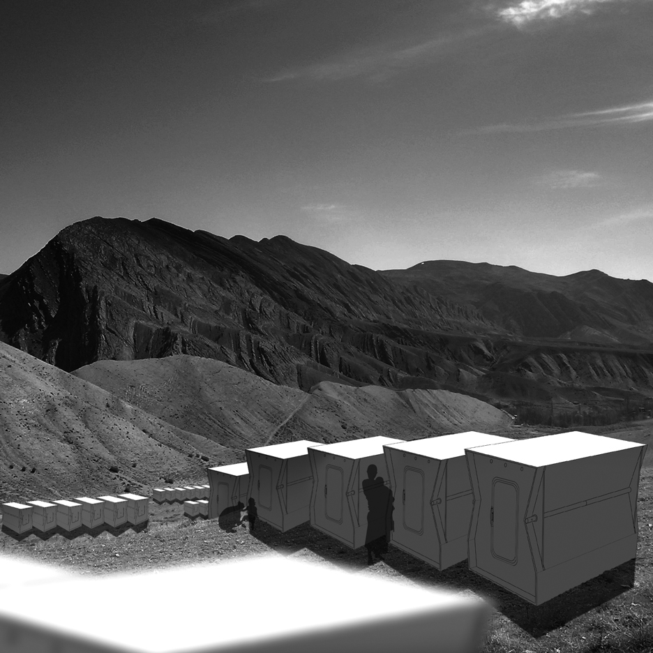 Suisse seeks funding for folding emergency shelter prototype