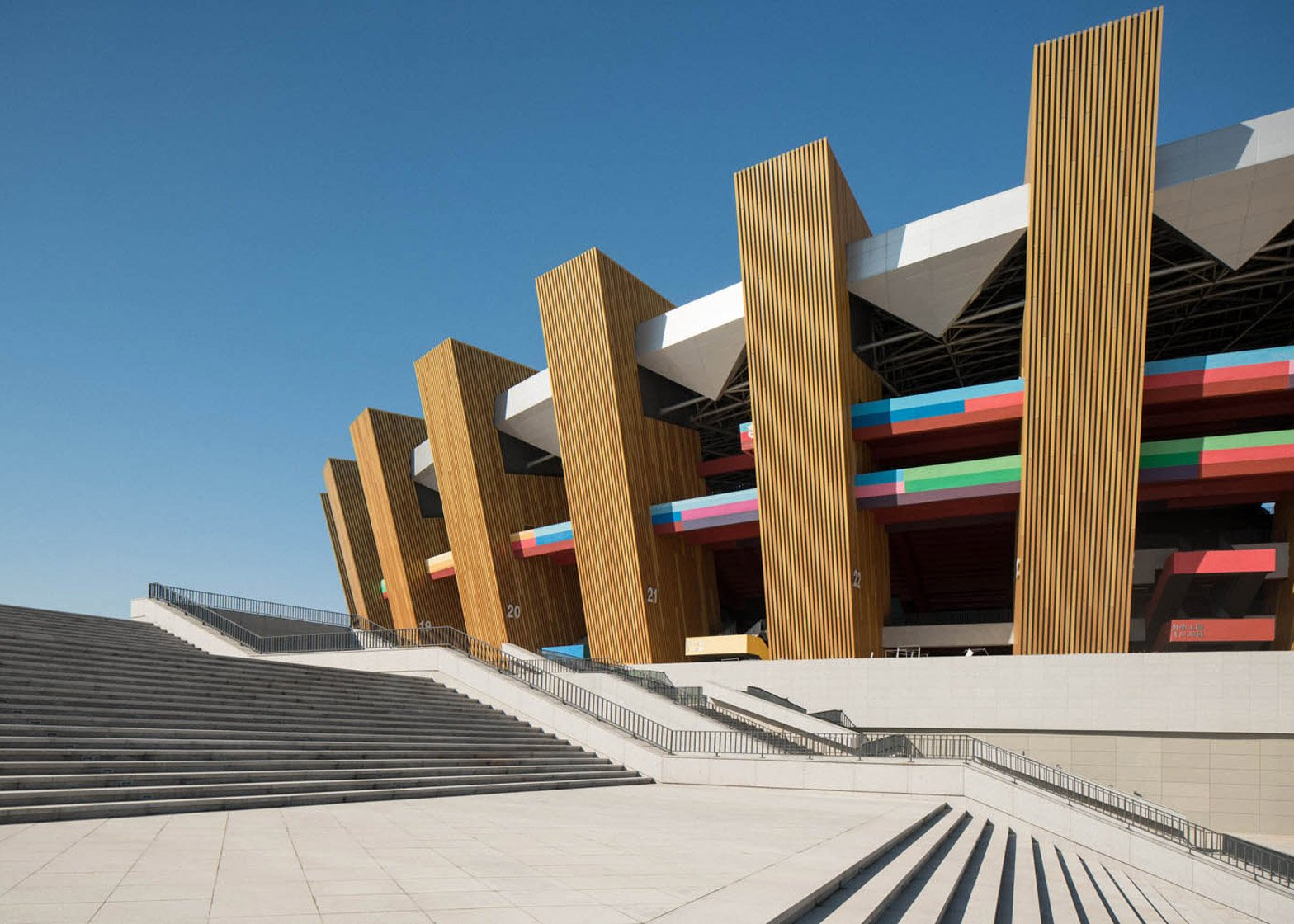 Ordos Sports Center Stadium by China Architecture Design and Research Group
