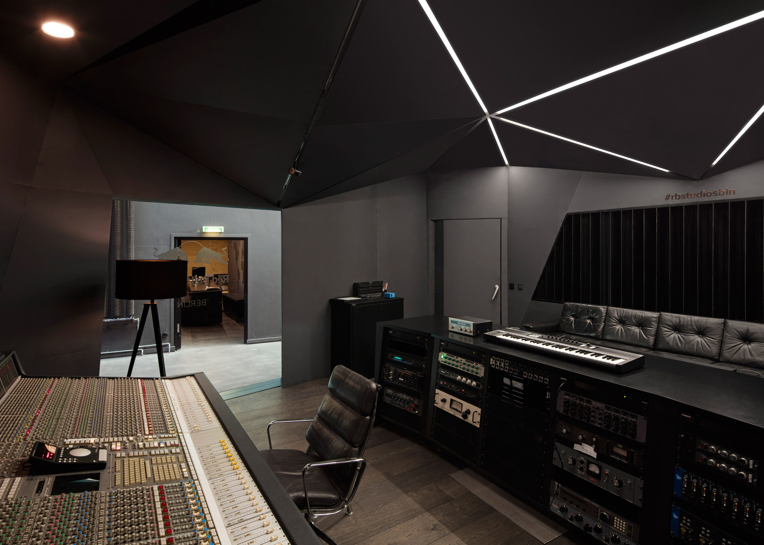 Peachy Red Bull Music Studio Created Within Old Berlin Power Station Largest Home Design Picture Inspirations Pitcheantrous