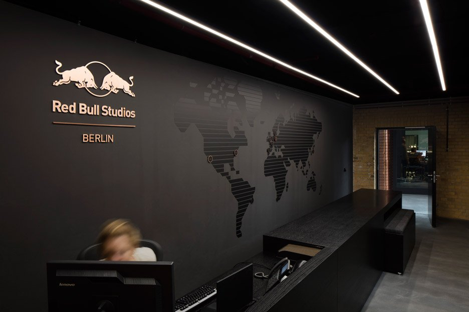 Red Bull studio in Berlin by Optimist Design