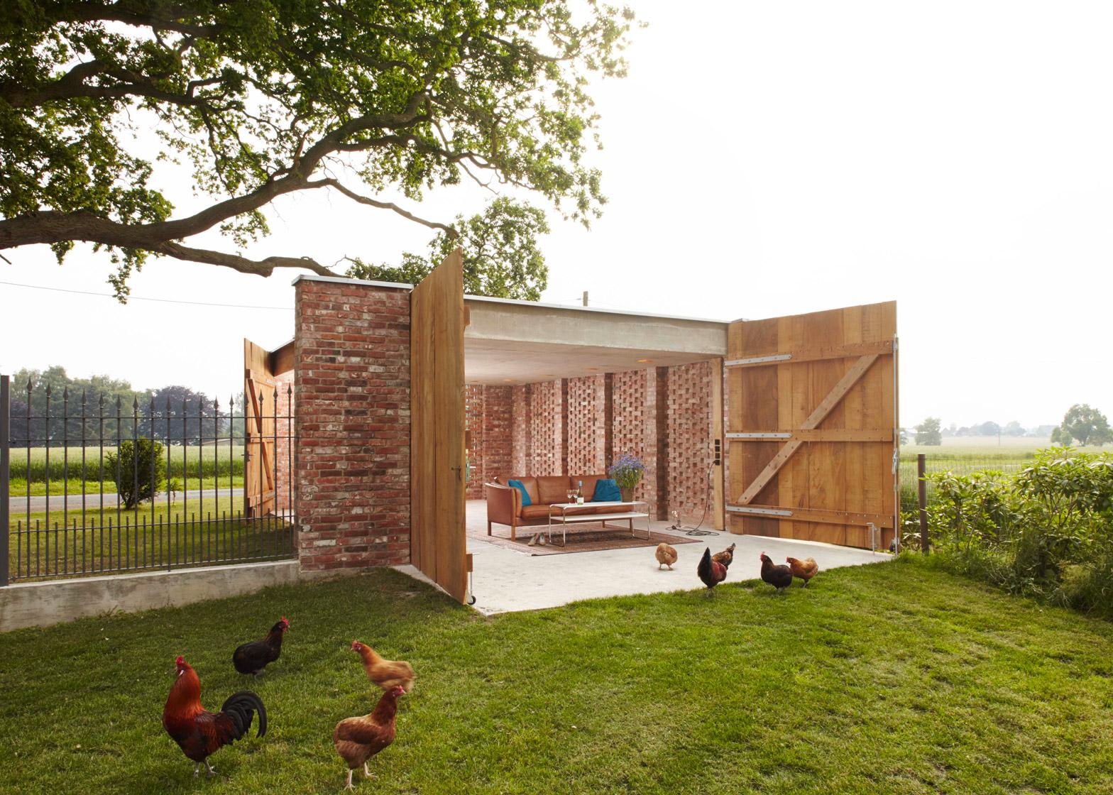 Remisenpavillon by Wirth Architekten
