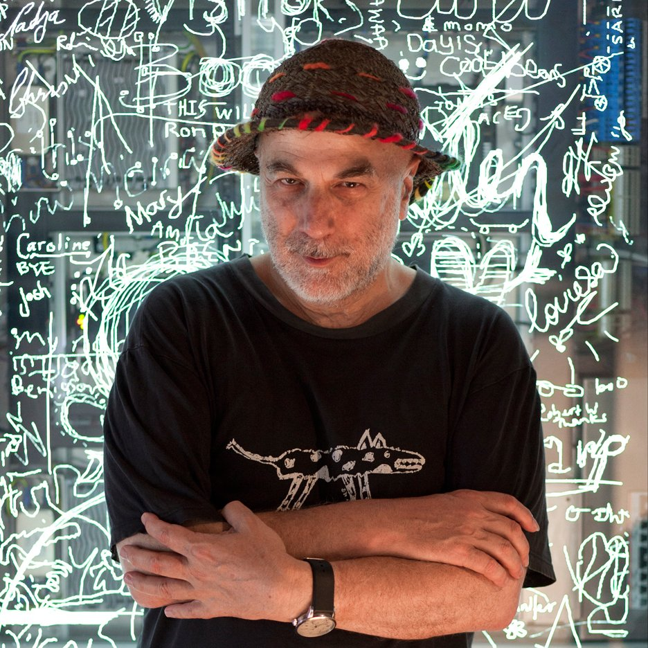 Portrait of Ron Arad