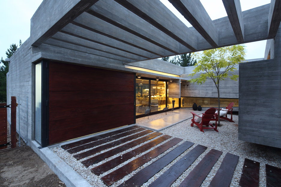 S and S House by Besonias Almeida Arquitectos