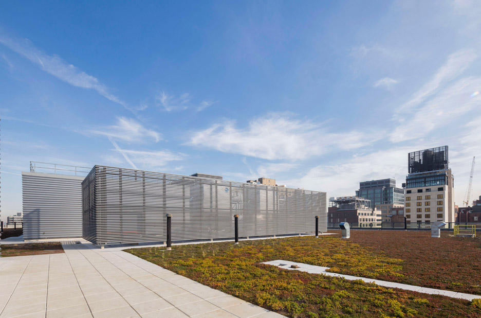 Sanitation facility in New York City by Dattner and WYX Wade Zimmerman