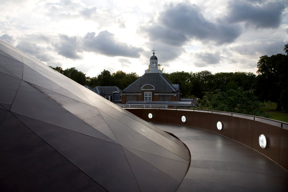 Serpentine Gallery Pavilion 2007 by Olafur Eliasson and Kjetil Thorsen