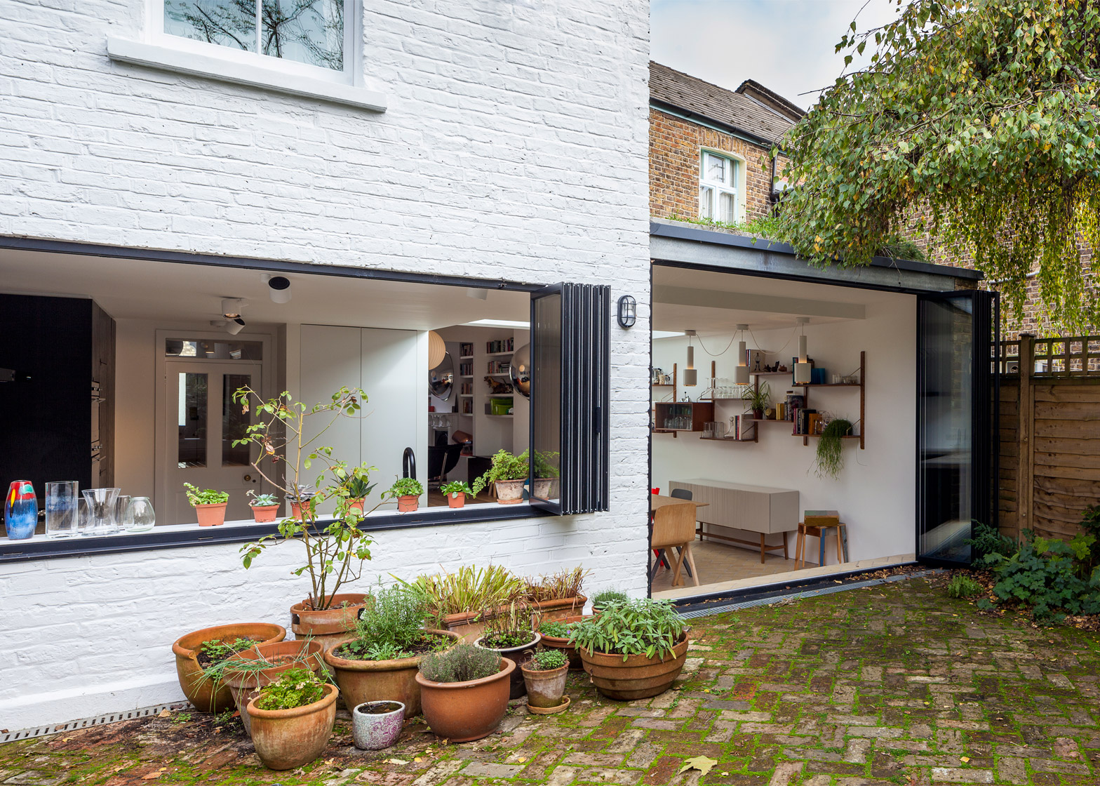 Third place: Shepherd's Bush extension by Studio 30 Architects