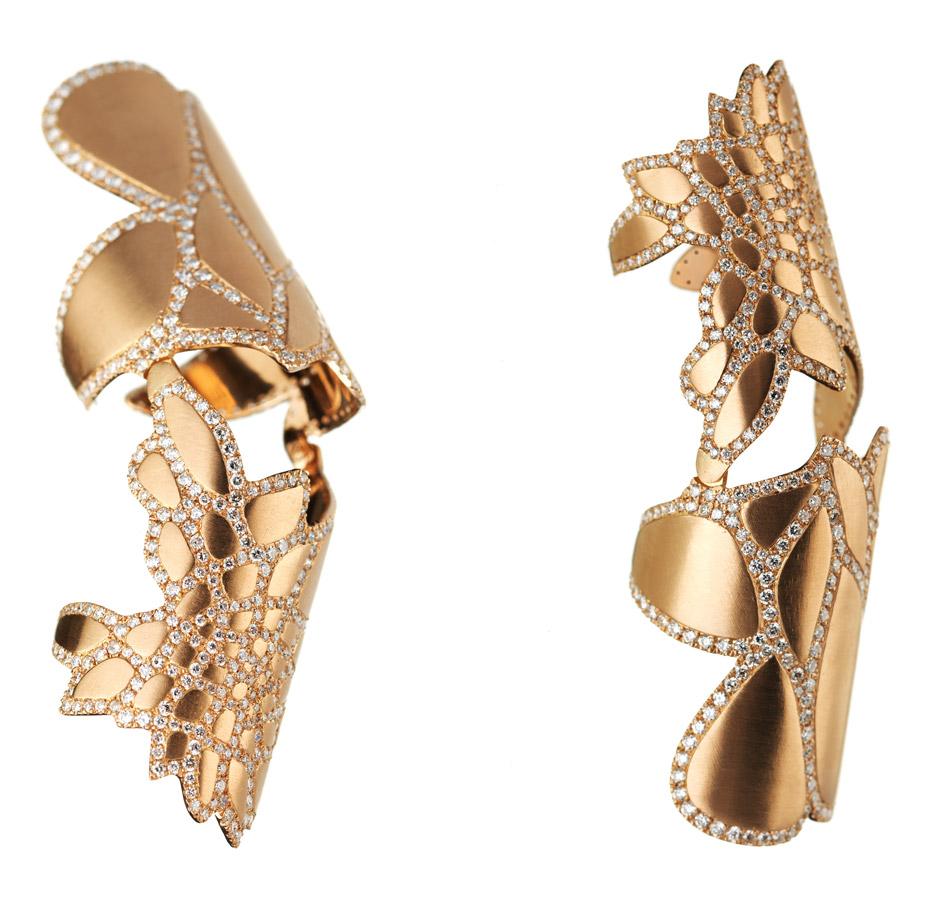 Silene jewellery by Zaha Hadid