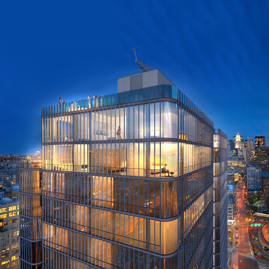 Renzo Piano reveals designs for Soho Tower in New York