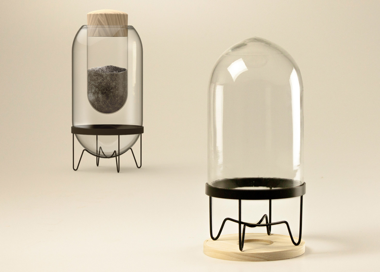 Home Grieving Set SOOT by Franziska Steingen