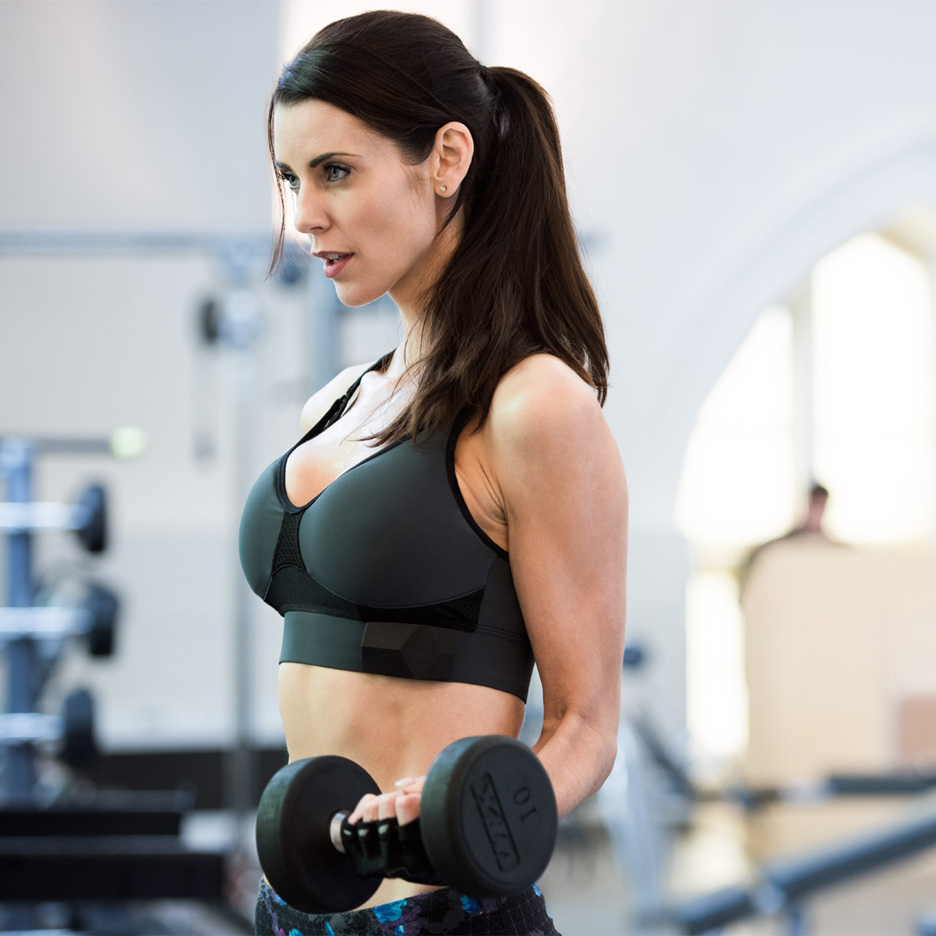OMbra smart sports bra by OMsignal
