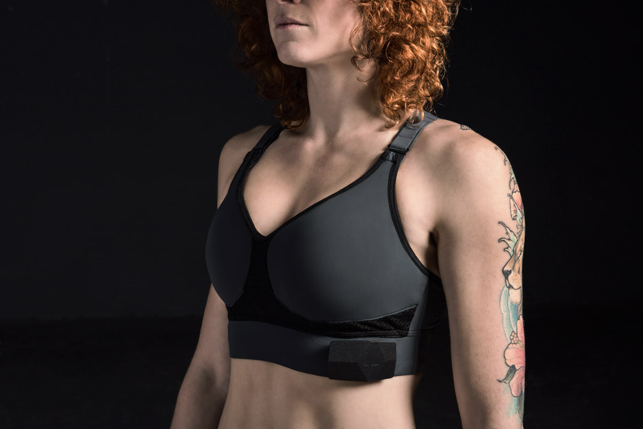OMsignal's smart sports bra gives wearers instant workout feedback