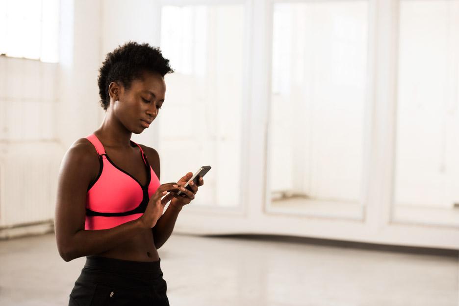 Sports bra by OMbra