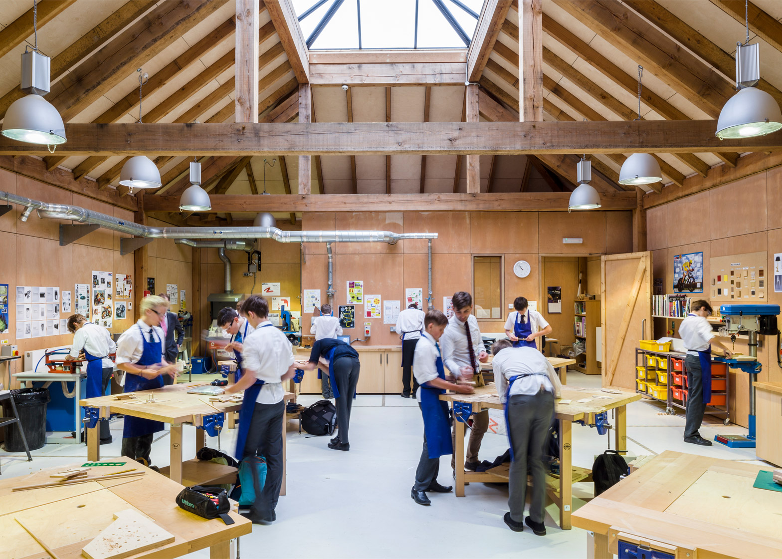 2 Of 6; Design And Technology Block At St Jamesu0027s School By Squire And  Partners Architects.