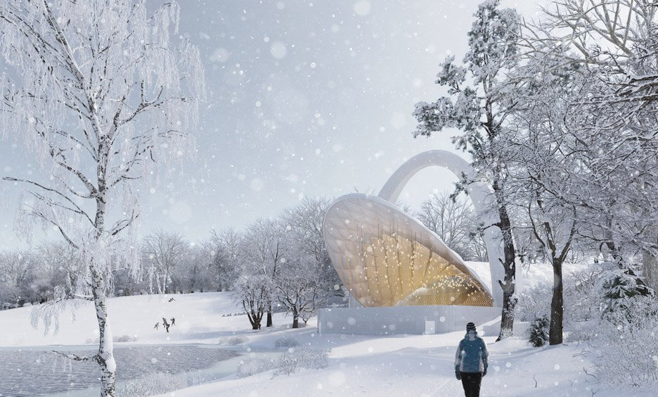 Flanagan Lawrence wins competition to design a Summer Theatre in Szczecin Poland