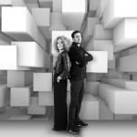 Dynamo and Kelly Hoppen collaborate to create illusions with trompe l'oeil wallpaper