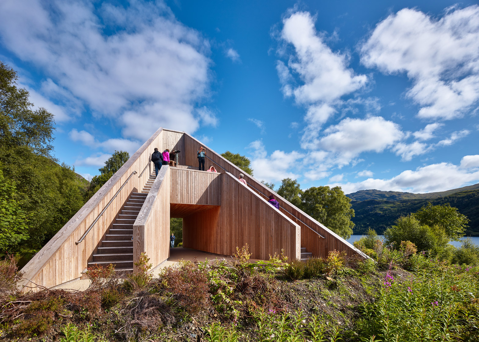 The Pyramid viewpoint by BTE Architecture