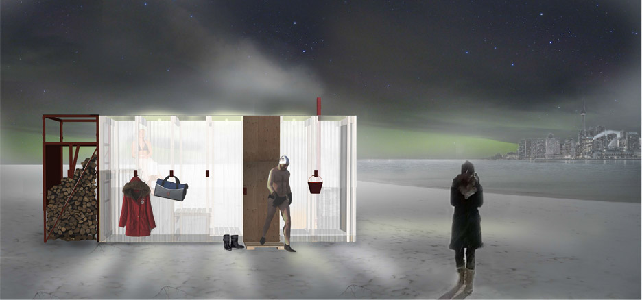 Sauna by Claire Furnley and James Fox of FFLO
