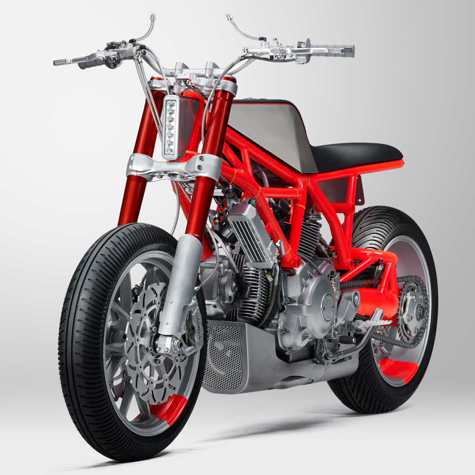 "UMC-SF and Marin customise Ducati Scrambler to create a ""provocative"" motorcycle"