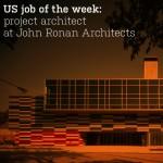US job of the week: project architect at John Ronan Architects
