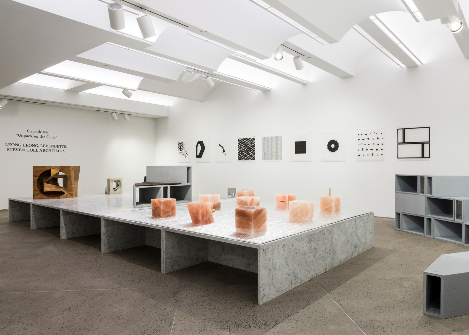The Unpacking the Cube exhibition at New York gallery Chamber features architect-designed pieces