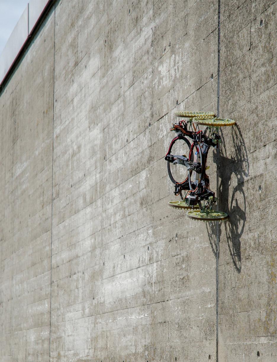 VertiGo climbing robot by Disney