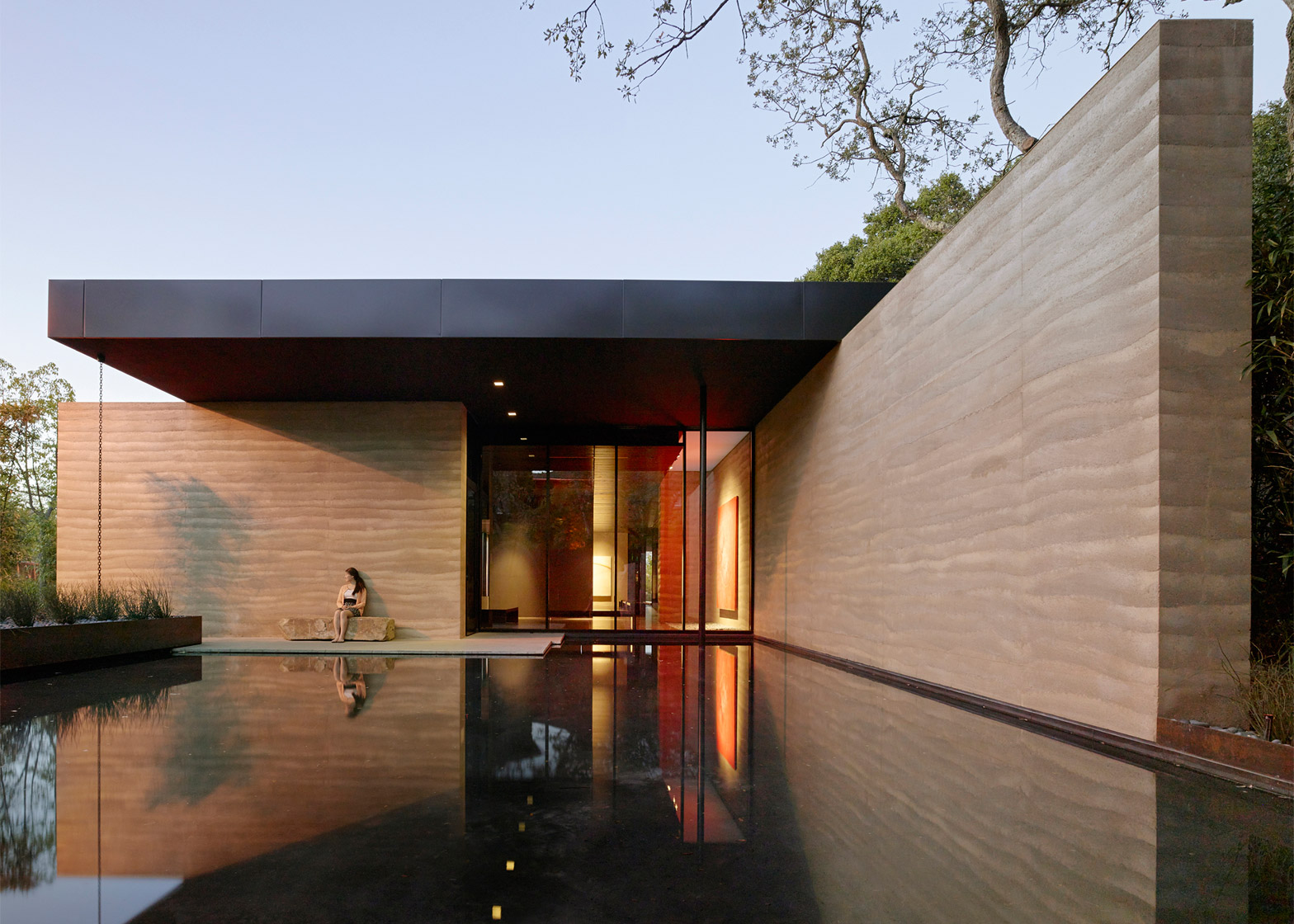 Windhover Contemplative Center; Stanford, California; by Aidlin Darling Design